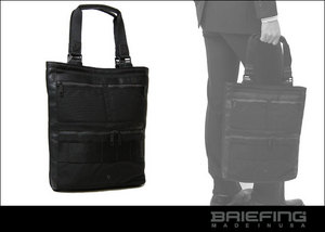 BRIEFING[ブリーフィング]BLACK LINE TALL TOTE COMP